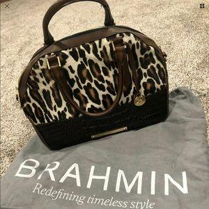 Brahmin Leopard Print Bag!